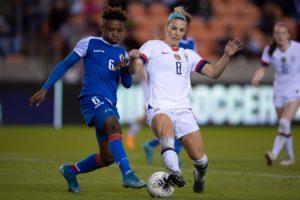 Les USA battent Haiti sur le score de 4-o