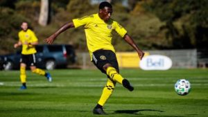 Derrick Etienne marque avec son nouveau club