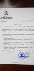 Crise-PNH :  une commission mise sur pied pour statuer sur les revendications des policiers