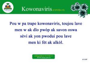 Ayiti Sante: Tout saw dwe konnen sou Kowonaviris