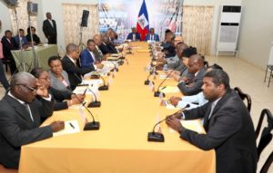 Haïti Impacts économiques du COVID-19: l'administration Moïse, anticipé