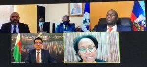 """Conversation """"fructueuse"""" entre le Président Moïse et son homologue Malgache Rajoelina"""