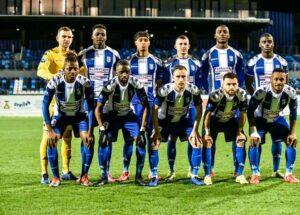 Foot-France: L'USL Dunkerque de Leverton Pierre grimpe en ligue 2