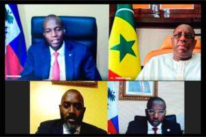 Entretien entre le Président Jovenel Moïse et son homologue Sénégalais,Macky-Sall