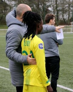 Foot-Feminin français: Sherly Jeudy marque son premier avec le fc Nantes