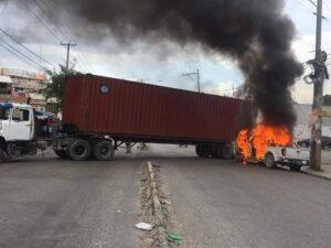 Haiti Insécurité :Tentative de détournement d'un camion de marchandises, échoue à Gressier