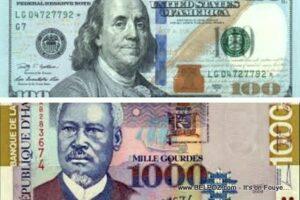 Taux du Jour Haïti: Taux de Référence de la BRH pour ce vendredi 25 septembre