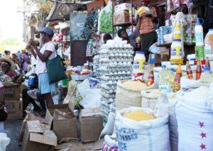Haiti Economie: Défaut des prix des produits alimentaires sur le marché