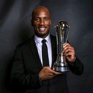 Football Distinction : Didier Drogba remporte le prix du président de l'UEFA Aleksander Ceferin