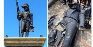 Haïti-Sculpture: L'Œuvre sculptée du père fondateur de la nation profanée
