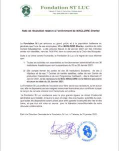Haiti Kidnapping: La Fondation St Luc bientôt à l'arrêt définitif