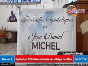 Nécrologie : Funérailles symboliques de l'agent I de l'UDMO Jean Daniel Michel