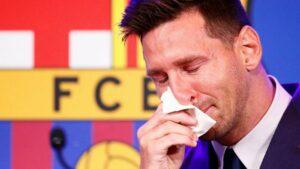 Football Transfert : Messi quitte le Barça dans la douleur